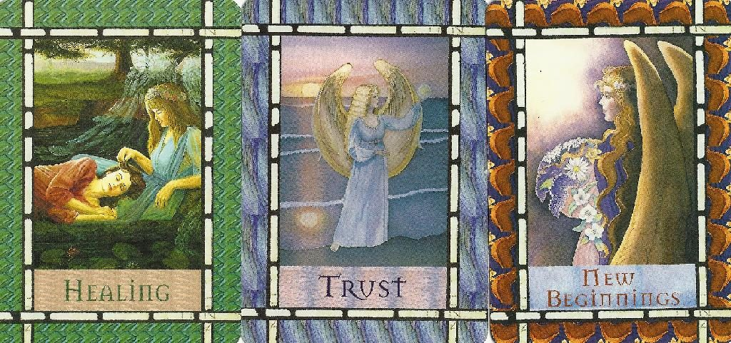 Card Deck: Healing with the Angels by Doreen Virtue