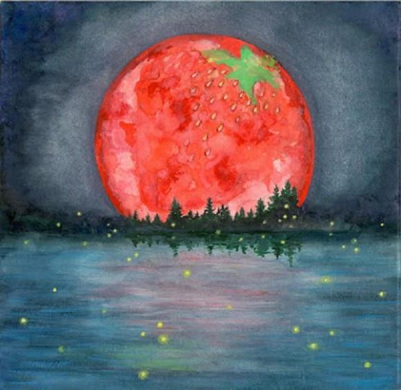 strawberry moon - photo #24